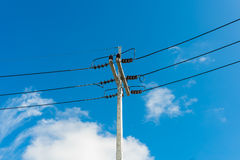 Stree power line Stock Photo