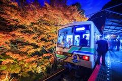 Stree veiw Togo świątynia, Kyoto, Japonia Obrazy Stock