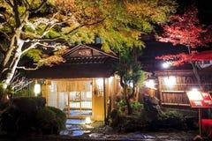 Stree veiw Togo świątynia, Kyoto, Japonia Obraz Stock
