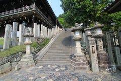Stree view in Nara Japan Stock Photo