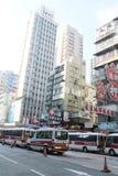 Stree view in Prince Edward, Hong Kong Royalty Free Stock Image