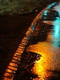 Streeet molhado Foto de Stock Royalty Free