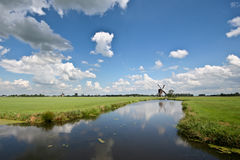 streefkerk wiatraczek Fotografia Stock