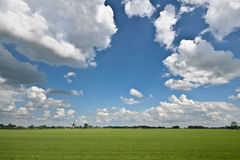 Streefkerk Windmill Stock Images
