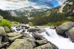 Streem de la montaña foto de archivo libre de regalías