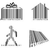 Streepjescode Royalty-vrije Stock Afbeeldingen