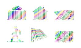 Streepjescode Stock Afbeelding
