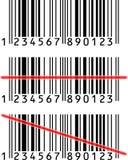 Streepjescode royalty-vrije illustratie