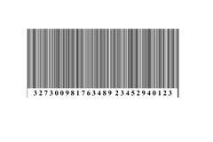 Streepjescode Royalty-vrije Stock Foto