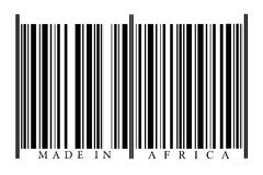 Streepjescode Afrika Royalty-vrije Stock Afbeeldingen