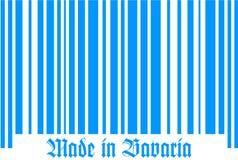Streepjescode van Beieren Stock Afbeelding