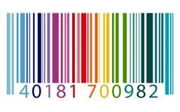 Streepjescodeidentiteit Marketing het Concept van de Gegevensencryptie Stock Afbeelding