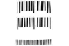 Streepjescodes Stock Foto