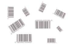 streepjescodes Royalty-vrije Stock Afbeelding