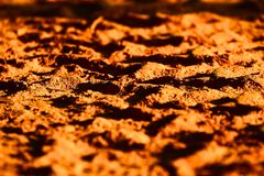 Street's Sand with Afternoon Sunlight Stock stock images