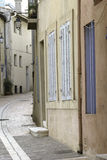 Street. Small street in Cassis. Provence, France Royalty Free Stock Images