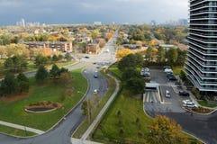 Street. S of North York, Ontario Stock Photography