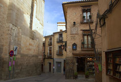 Street. Small old street in toledo (spain Royalty Free Stock Photo