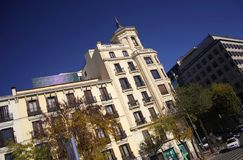 Street. In madrid (spain Stock Photo