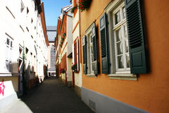 Street. Small street in heidelberg (germany Stock Photo