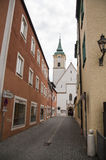 Street in Abensberg Stock Photography