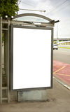 Street ad Royalty Free Stock Images