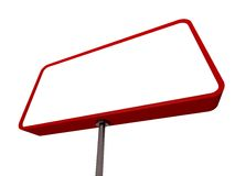Street Ad Sign Background Stock Image