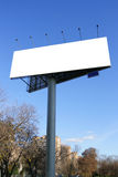 Street advertising Stock Image