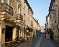 Street in Aigues-Mortes Stock Photos