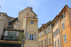 Street in Aix en Provence Royalty Free Stock Photo