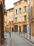 Street in Aix en Provence, France Royalty Free Stock Photos