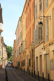 Street in Aix en Provence Stock Images