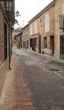 Street of Alaejos Stock Photos