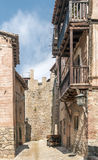 Street of Albarracin Stock Images