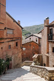 Street of Albarracin Stock Photo