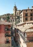 Street of Albarracin Stock Images