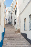 Street in Albufeira, Portugal. Stock Photos