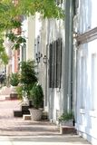 Street in Alexandria, Virginia Royalty Free Stock Photo