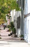 Street in Alexandria, Virginia Royalty Free Stock Photography