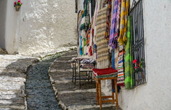 Street in Alpujarra, Granada, Spain Royalty Free Stock Photos