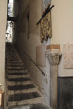 Street in Amalfi Royalty Free Stock Photos