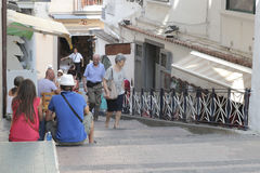 Street in Amalfi Stock Images