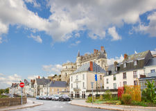 Street in Amboise, France Stock Photo