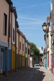 Street in Amiens Stock Image