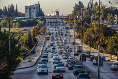 Street in Amman Stock Images