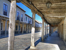 Street of ampudia Stock Photography