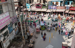 On the street in Amritsar. Punjab. India. Stock Photography