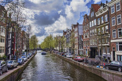 Street in Amsterdam Royalty Free Stock Image