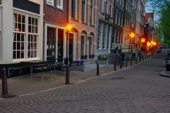 Street of Amsterdam, the Netherlands Royalty Free Stock Photography