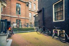 Street Amsterdam Stock Photography